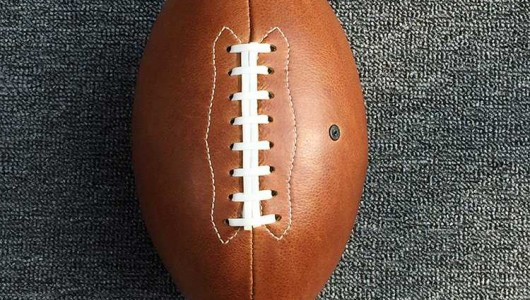 How to make leather American football