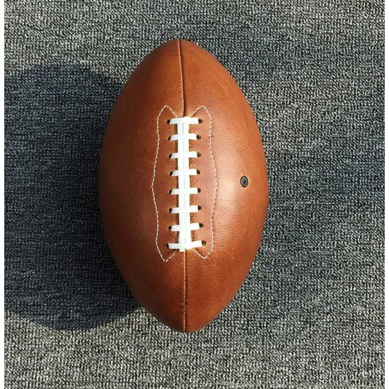 With instruction - Laser cut Acrylic template, American football pattern, A-125