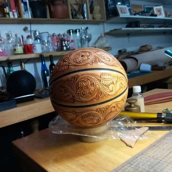Laser cut Acrylic template, Basketball pattern, A-140