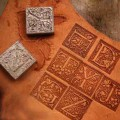Leather hot stamp