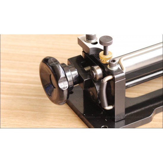 Free shipping worldwide-Cowboy Deluxe leather splitter machine