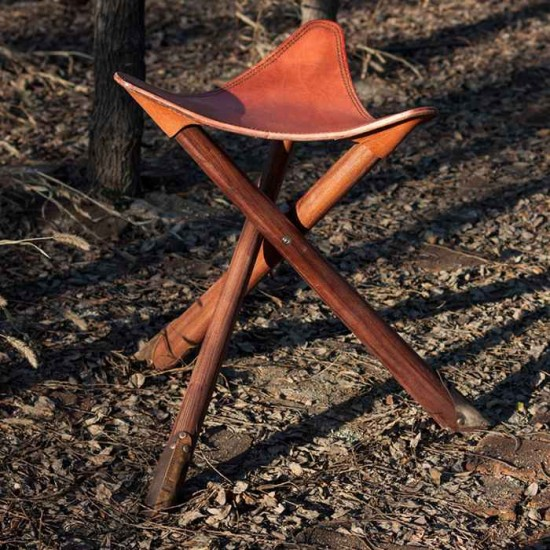 Awe Inspiring Leather Campstool Material Kit Leather Fishing Stool Making Tools Ibusinesslaw Wood Chair Design Ideas Ibusinesslaworg