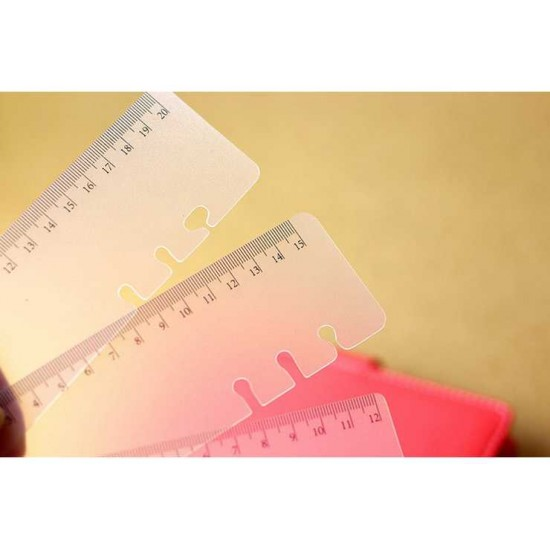 Notebook dairy planner ruler clapboard 2 pieces/lot