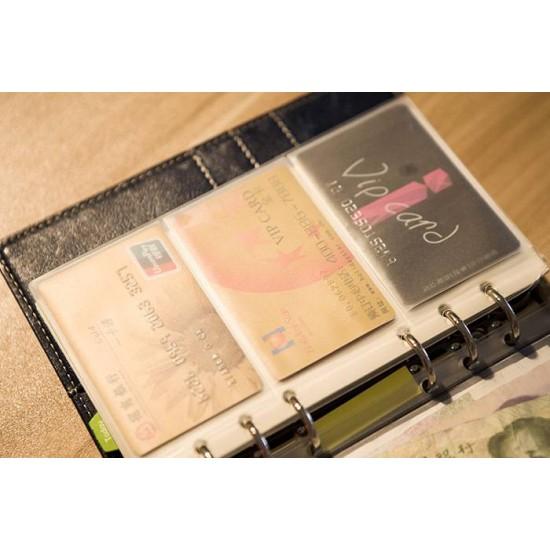 20 pc/lot PVC plastic bill sleeve, receipt pouch