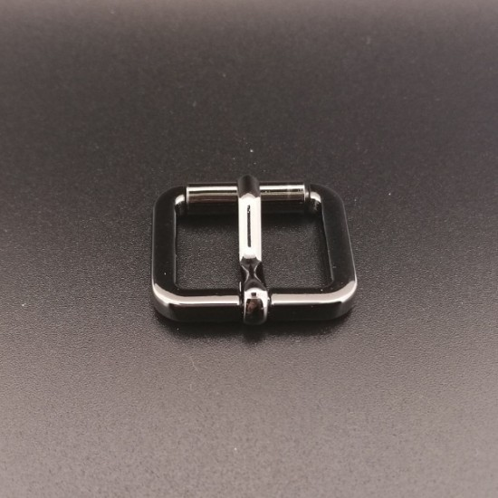 1pc/lot Gold and silver kirsite roller strap buckle, inner diameter 20mm, 25mm