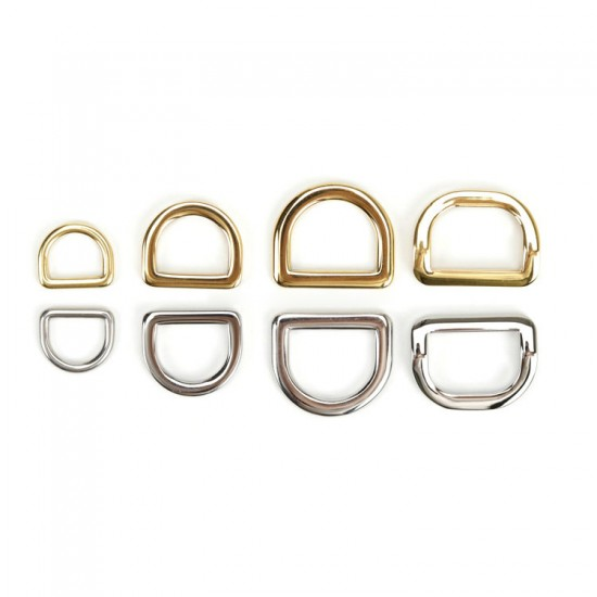 10pc/lot stainless steel D ring