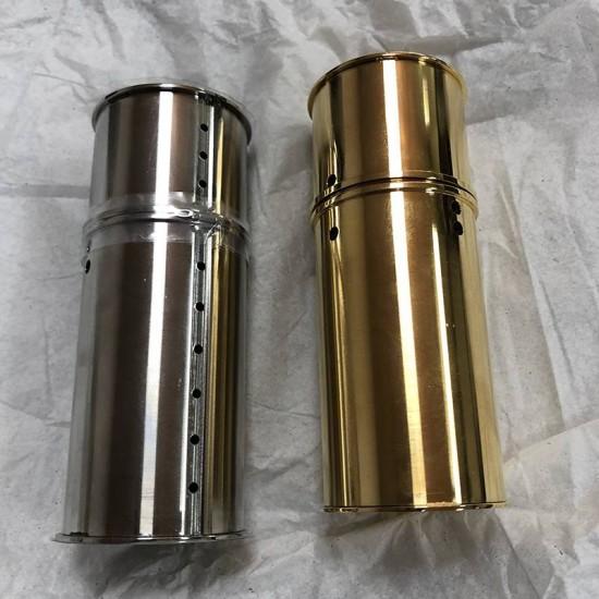 Top quality LV stainless steel elegant lipstick case hardware kit