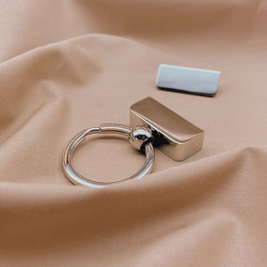 Toppest quality, stainless steel, key holder
