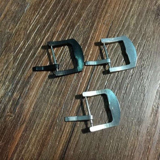 316 stainless steel arc top watch strap buckle 5 pc/lot
