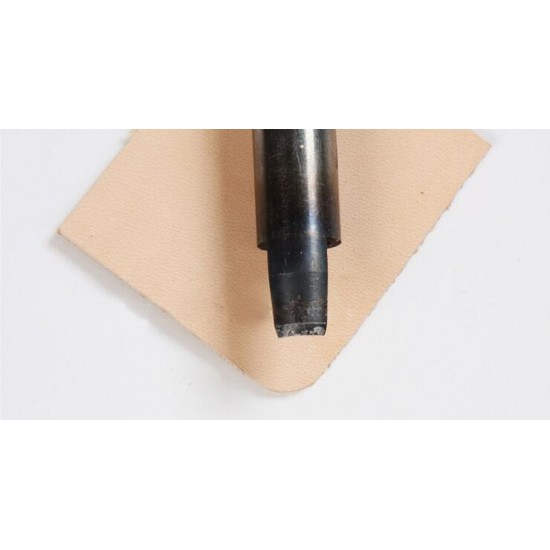 1/4 round punch, 10mm-40mm, very sharp, cut leather easily