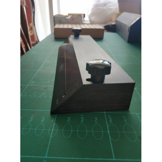 Edge beveler tool, 45 degree of angle beveler, leather box making tool leather miter joint tool