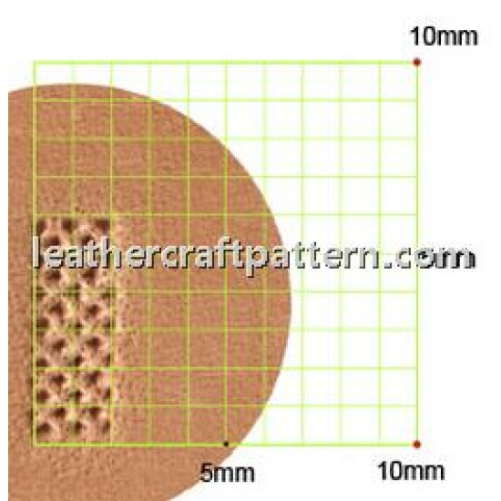 leathercraft tools leather stamp Craft Japan A105 background leather toolings