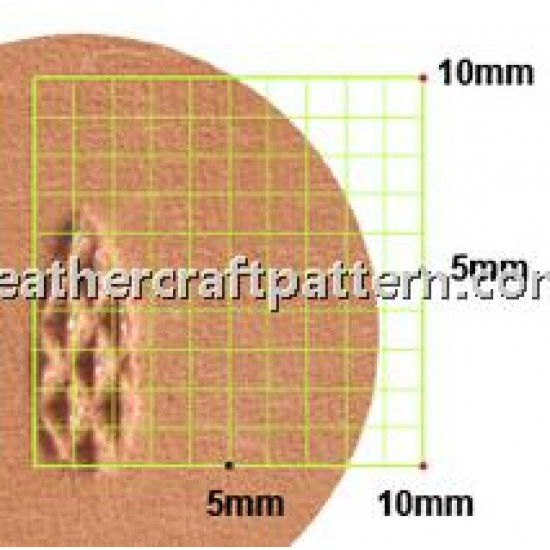 leathercraft tools leather stamp Thumbprint Craft Japan A888 Pear Print toolings