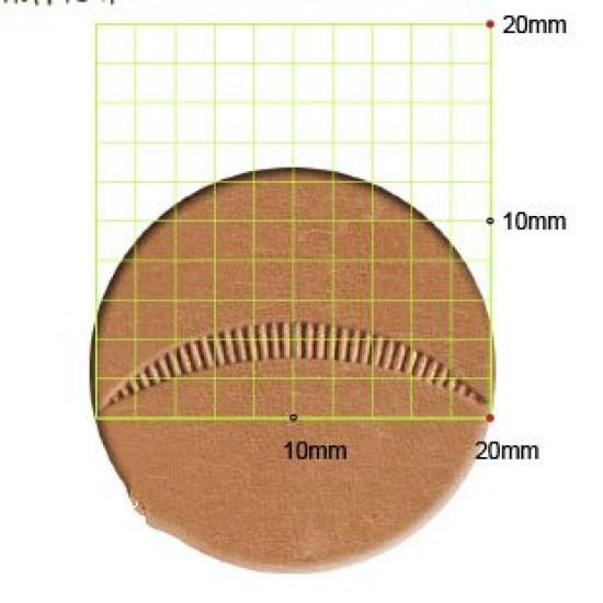 leathercraft tool leather stamp Craft Japan Veiner  V715  leather tools