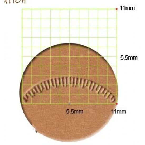 leathercraft tool leather stamp Craft Japan Veiner  V463 leather tools