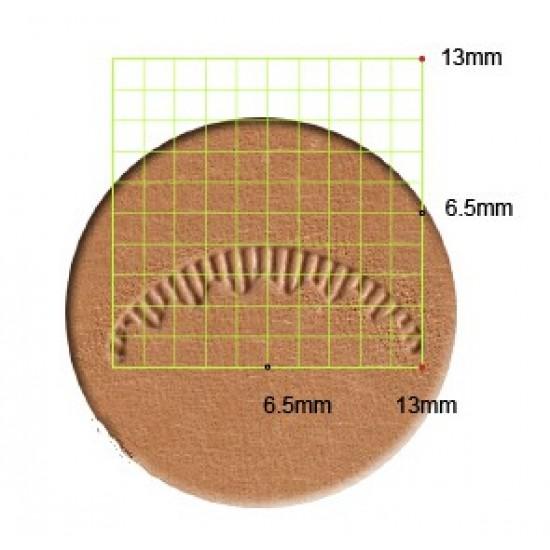 leathercraft tool leather stamp Craft Japan Veiner  V405  leather tools