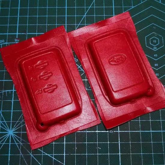 Subaru 3D car key case mould, Forester, Outback