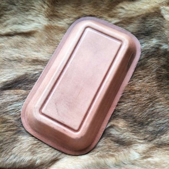 Small leather plate mould, leather mold
