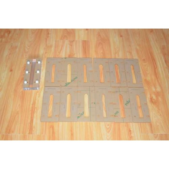 world debut - leather watch strap making mould