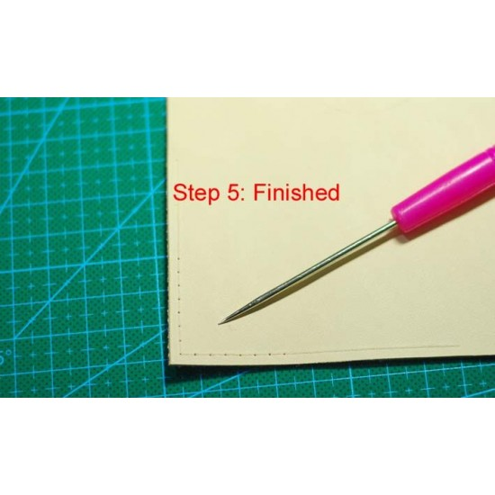 Acrylic template for stitching holes, stitching holes ruler