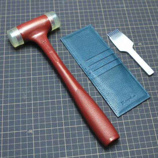 Leather hammer, mallet
