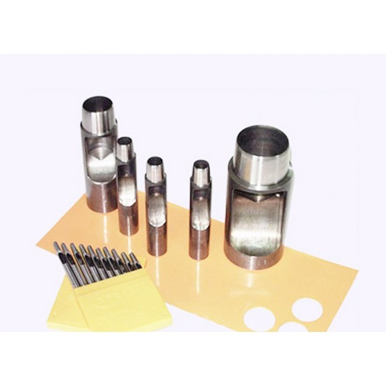 30mm-50mm High quality Round Leather Punches, very sharp, put through leather very easily
