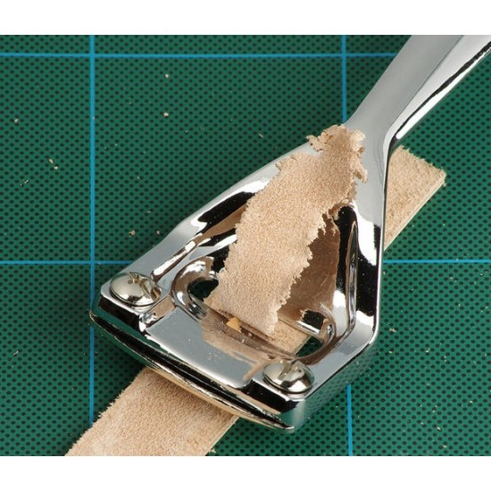 Easy-to-Use Leather Super Skiver for Thinning with 3 Blades Leather for Folds