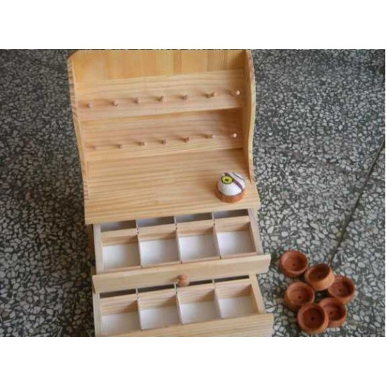 Free shipping worldwide-Leathercraft tools, bobbin shelf, leather tools cabinet, leather stamp stand