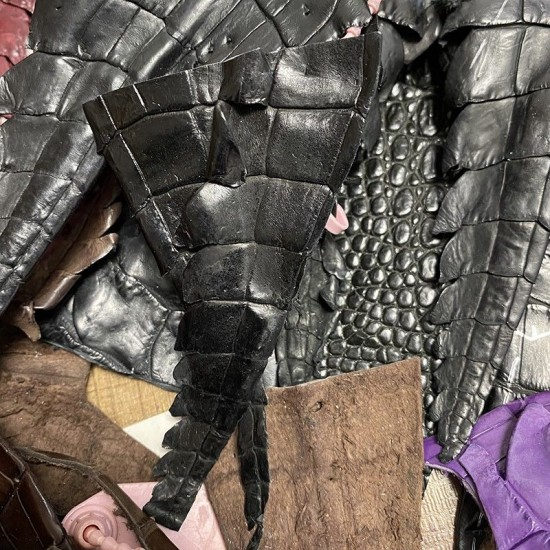 Crocodile tail pieces