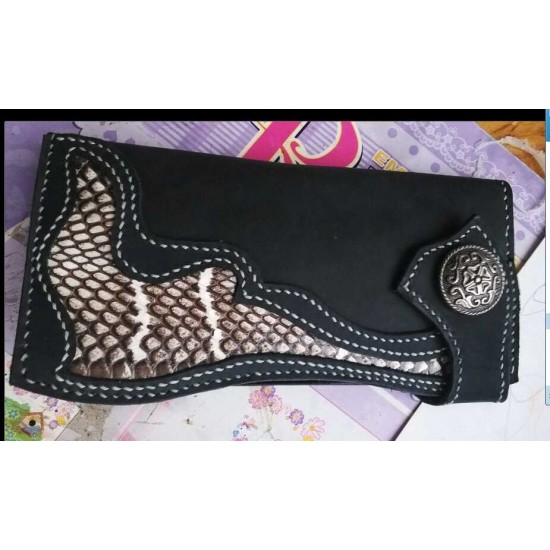 "Natural genuine head cobra snake skin leather Pelt width Width 9~19CM ( 3.5""~7.5"" )"