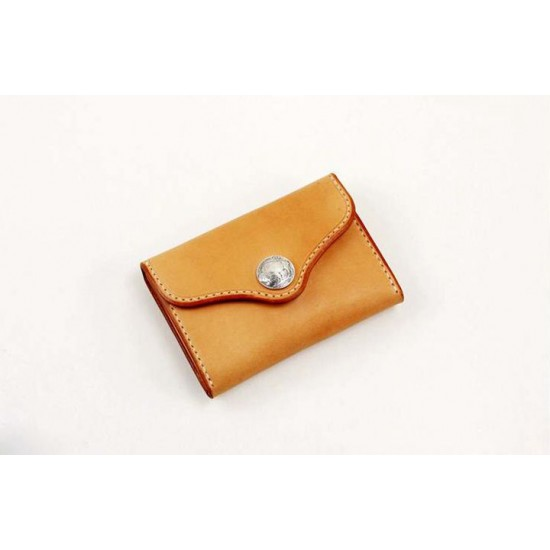 Precut leather material kit 3 fold coin purse M-22