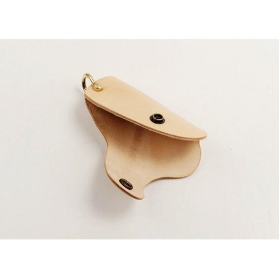 With hardware kit - Precut leather material kit key holder M-3