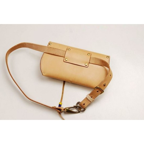 Precut leather material kit waist bag M-30