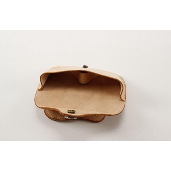Precut leather material kit eyeglasses case M-31