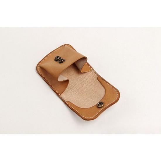 Precut leather material kit coin purse M-32