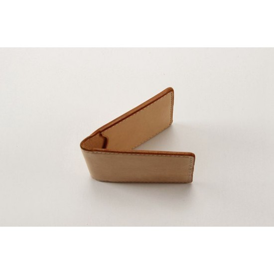 Precut leather material kit card case M-37