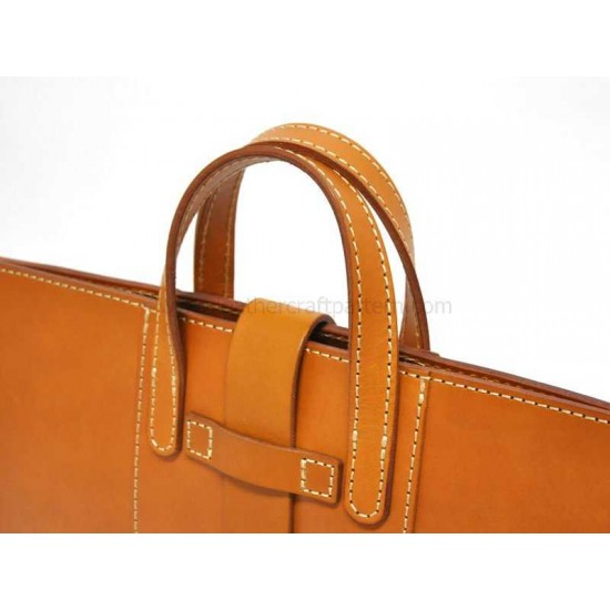 With instruction 2 in 1 Leather bag pattern briefcase pattern pdf donwload ACC-128
