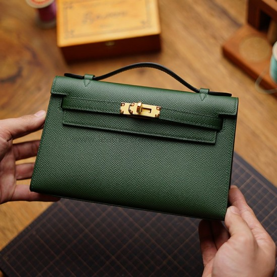 With 140 detailed pictures instruction Hermes Kelly mini 1 Pochette (Generation 1) pattern pdf download ACC-143