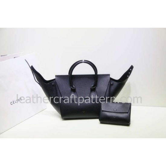 With instruction leather women trapeze bag pattern leather handbag PDF download ACC-28 leather bag pattern
