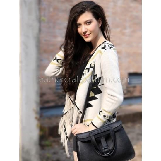 Leather bag pattern pattern bag sewing pattern PDF instant download ACC-45