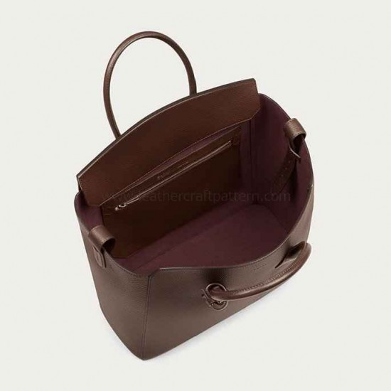 With instruction BALLY SOMMET Business handbag pattern leather bag patterns ACC-93 PDF instant download