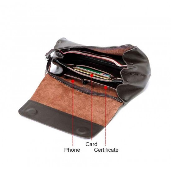 With instruction Men clutch Pattern PDF instant download LWP-37