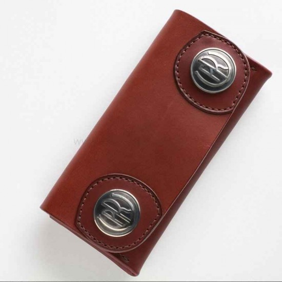 With instruction Leather long wallet pattern PDF instant download LWP-38
