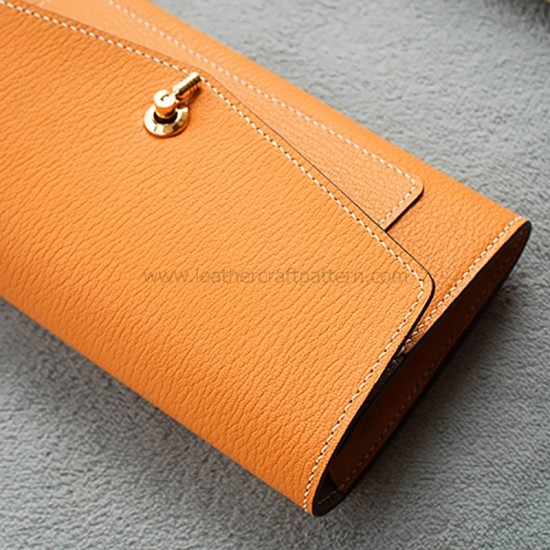 Leather wallet template, leather wallet pattern, pdf, download, LWP-45