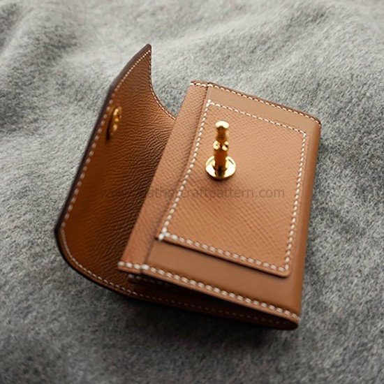 Card case pattern, leather purse pattern, leather card holder pattern, pdf, download, SLG-101