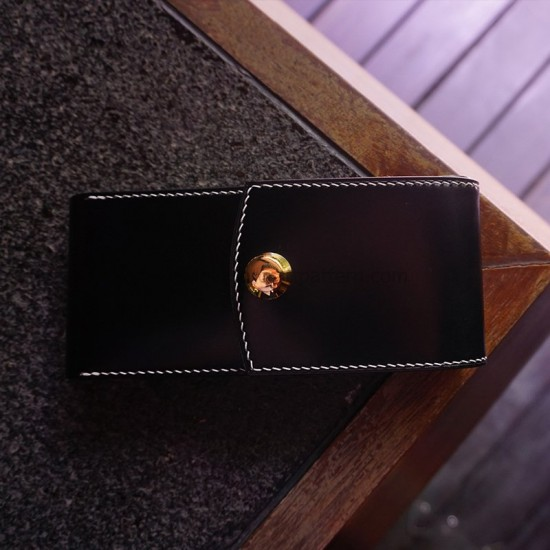 With 29 pictures detailed instruction Montblanc box stitching pen case pattern pdf download SLG-110