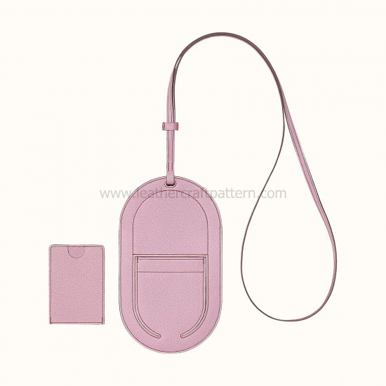 2 in 1 - With 121 detailed pictures instruction Hermes In-The-Loop phone to go GM PM case pattern pdf download SLG-121