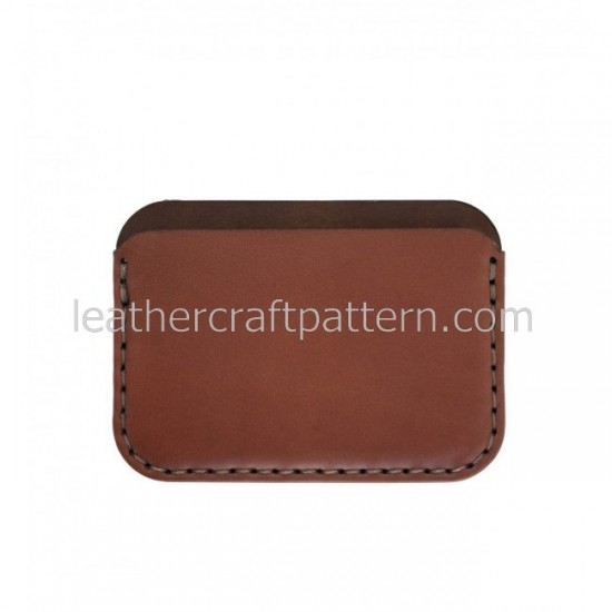 Leather patterns card holder pattern card protector SLG-44 PDF instant download leather craft patterns leather patterns leather template