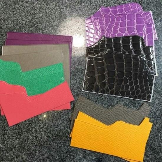 Leather Card holder pattern Bear design SLG-61 PDF instant download