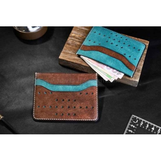 Leather Card sleeve pattern PDF instant download SLG-79